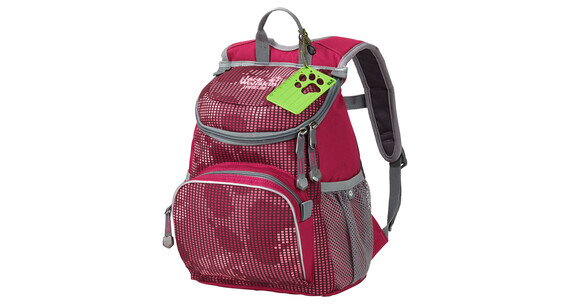 Jack Wolfskin Little Joe Daypack Kids azalea paw